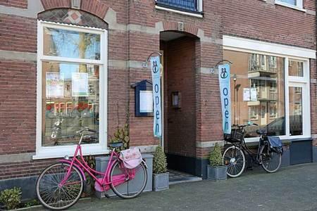 Het Inloophuis 'Leven met Kanker' aan de Wilhelminaweg in Woerden
